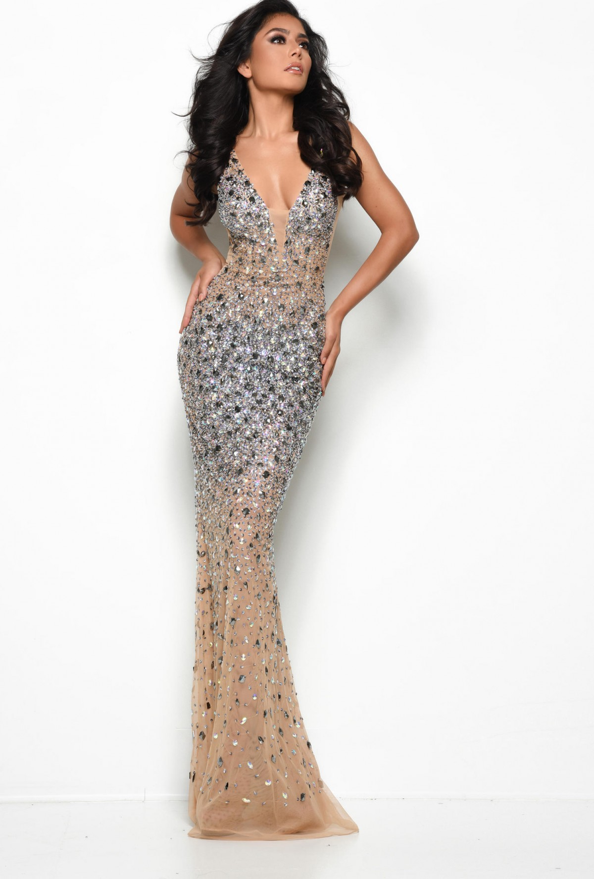 JASZ Couture evening gown 7077