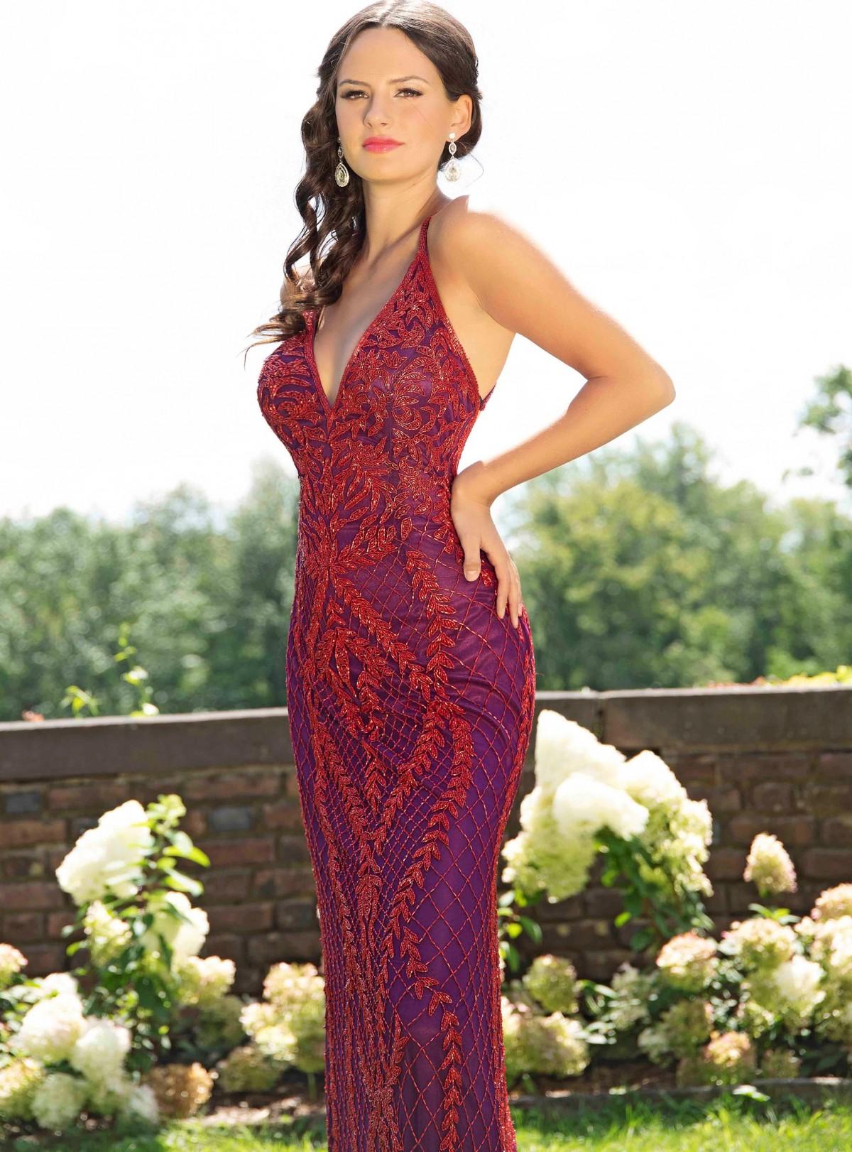 Primavera Couture beaded dress