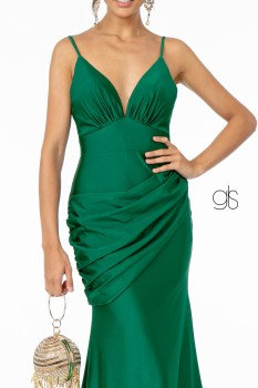 Sweetheart Neckline Jersey Long Dress