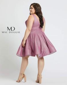Black Mac Duggal Cocktail Dress Size 24