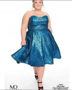 Mac Duggal Size 18 T Length Cocktail Dress