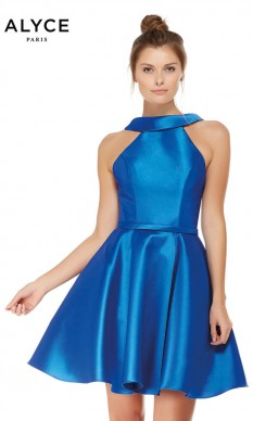 Alyce Sapphire Cocktail Dress
