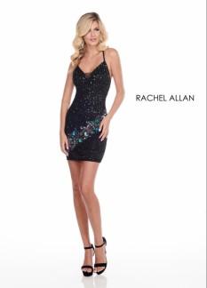 Rachel Allan Black size 4 cocktail dress