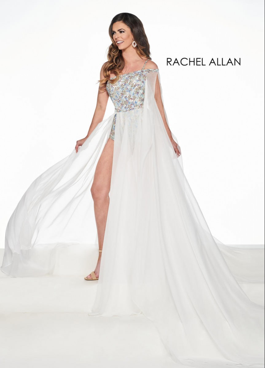 Rachel Allan Size 10 Body Suit