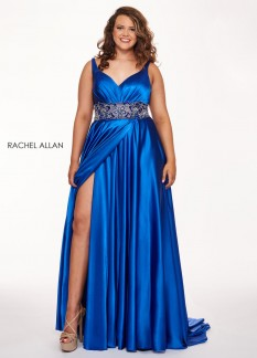 Rachel Allan Emerald Size 18 Gown