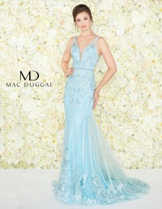 Size 18 Mac Duggal Evening Gown