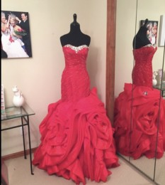 Red Rose Stephen Yearick Gown