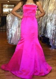 Sherri Hill Satin Mermaid Dress 53321