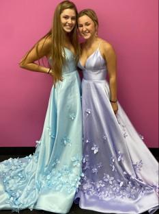 Sherri Hill 3D Floral Gown 53337
