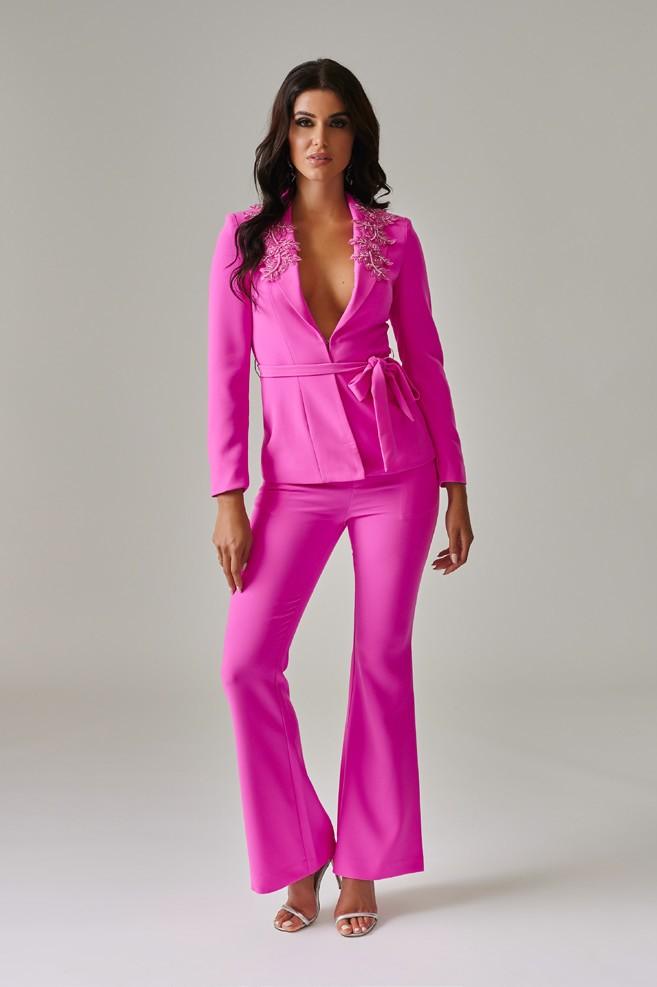 Pink Suit Pants by Forever Unique