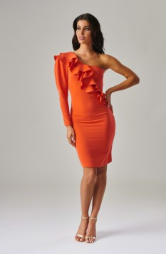 Coral Dress by Forever Unique