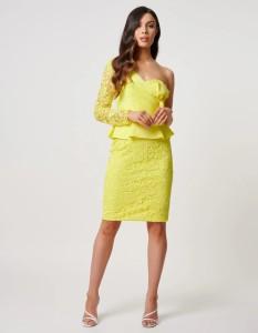 Yellow Interview Dress