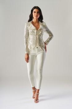 Sequin Jacket by Forever Unique