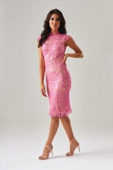 Sequin Lace Dress by Forever Unique