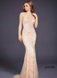 Jovani JVN Sweetheart Beaded 33704 (#20 on auction)