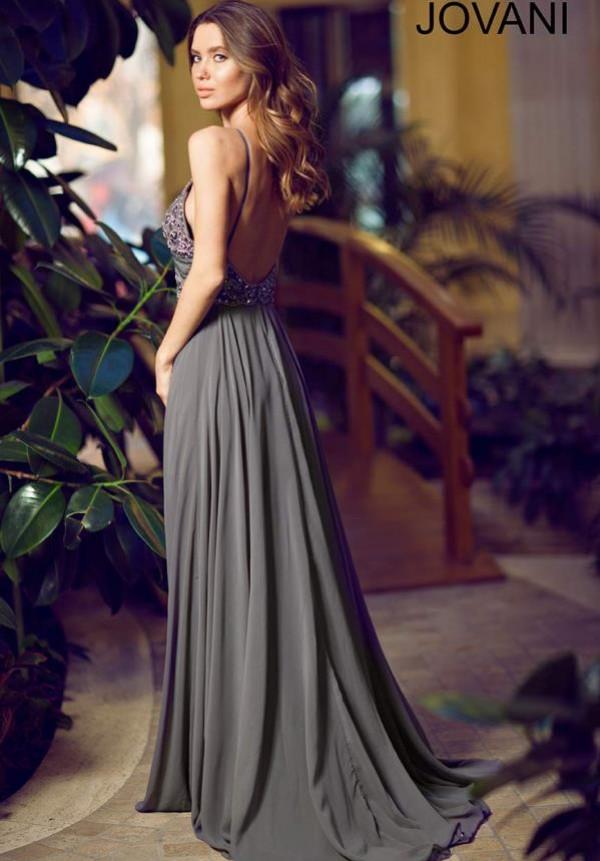 Jovani Elegant High Neckline 92605B