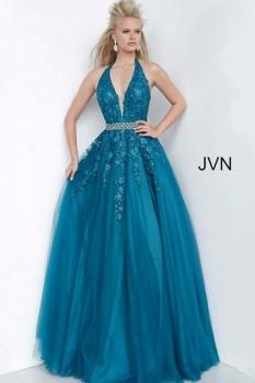 JVN by Jovani  Teal Dress JVN00923 (#25 on spybaby auction)