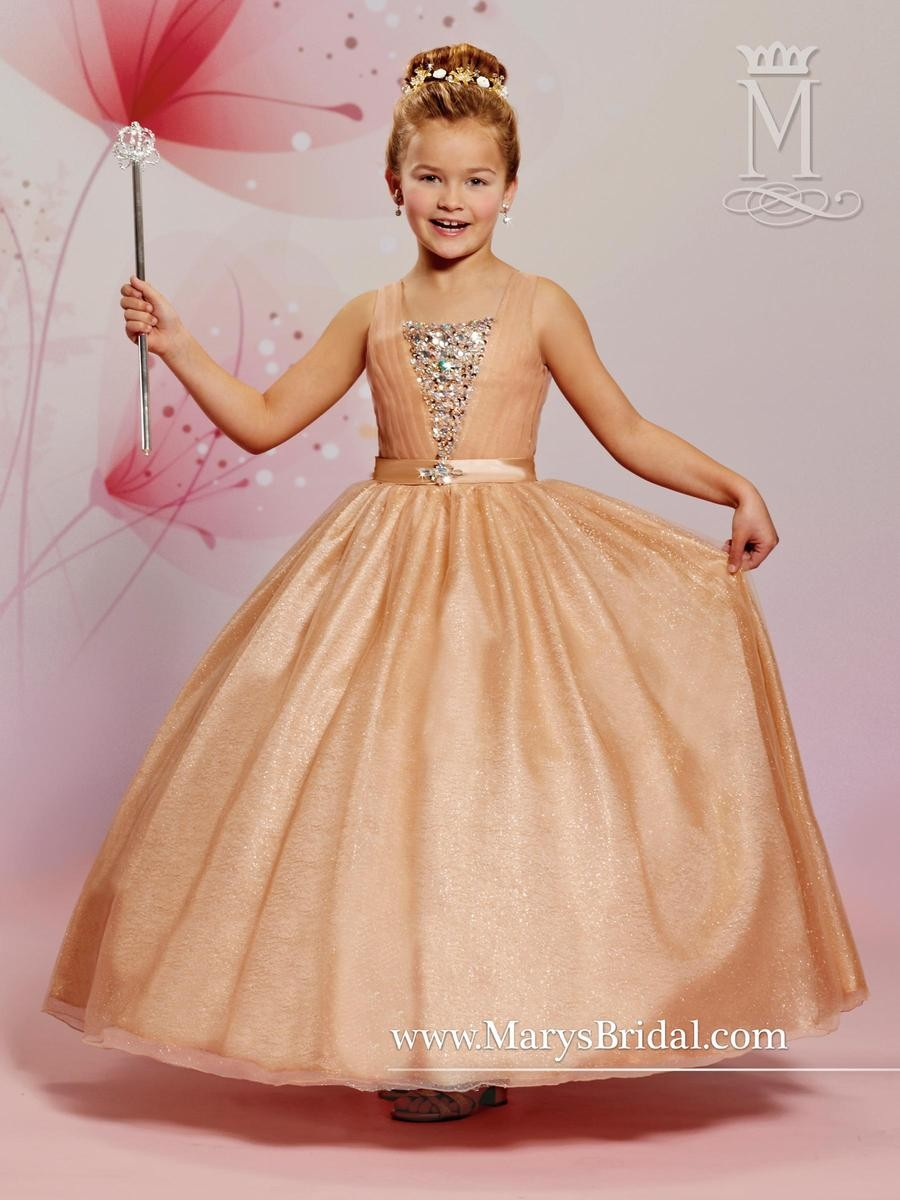 Marys Pink Gown F475