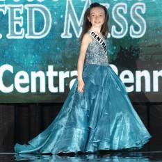 Size 8 Teal Tiffany Princess Design