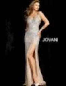 JVN Blush Beaded mesh top 47791b