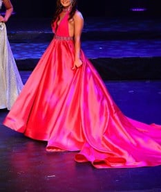Pink Evening Gown By Tres Jolie