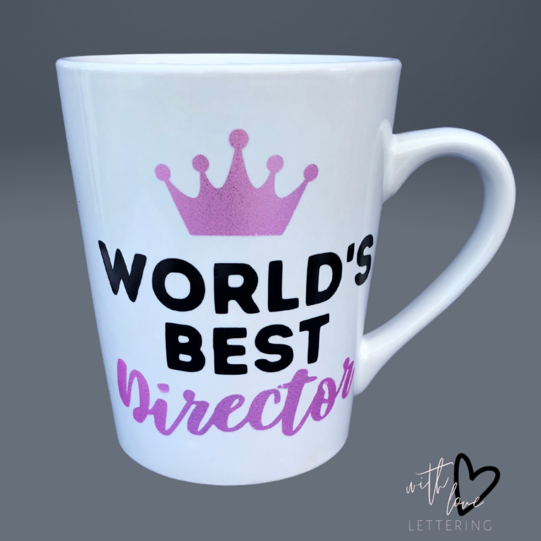 Customized World's Best Director Mug