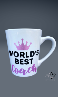 Customized Pageant Coach Mug