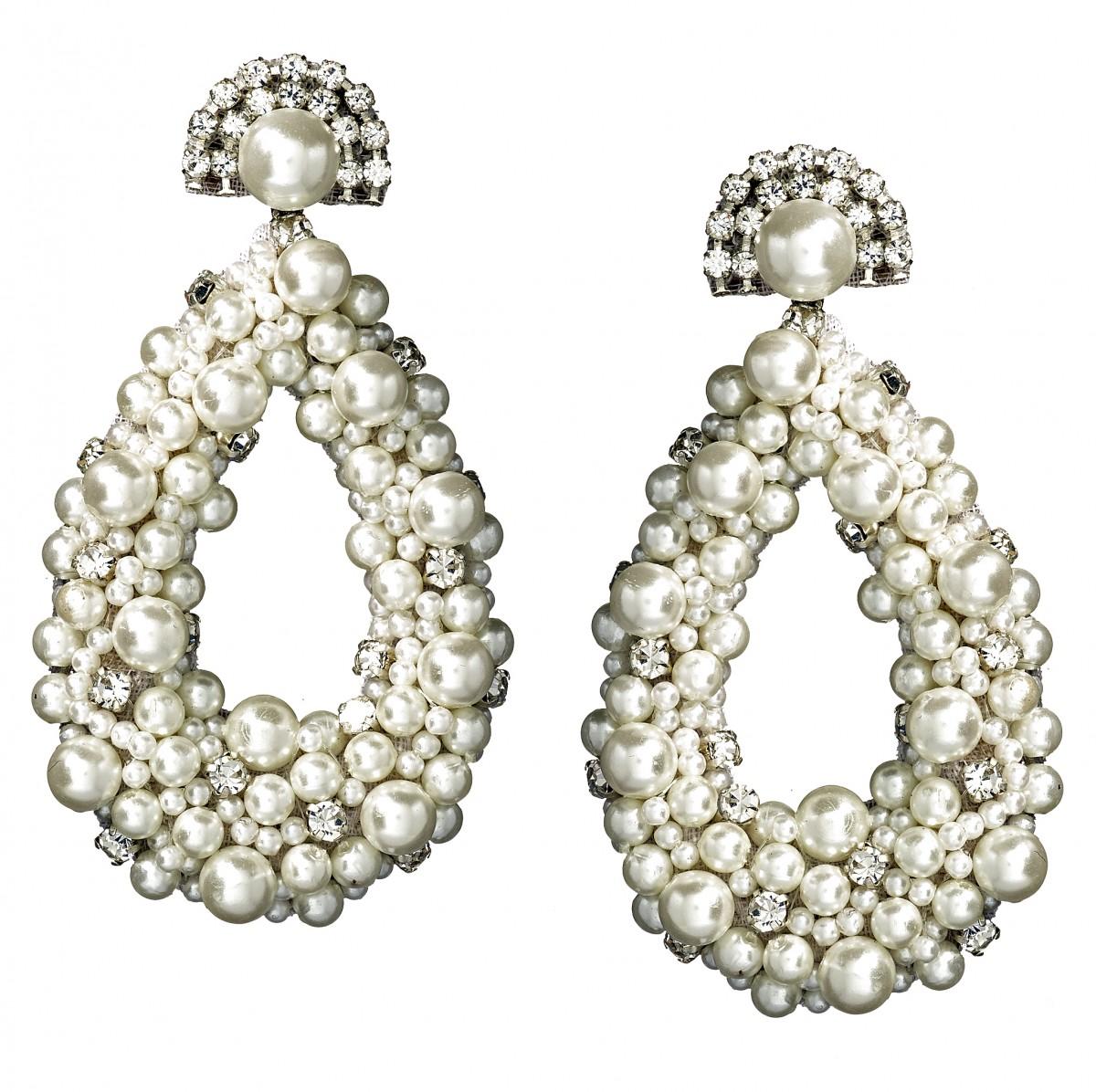 Pearl Drop Earrings Rent or Buy
