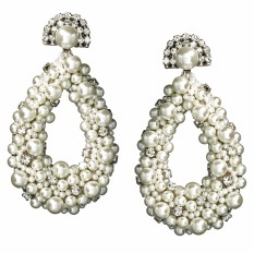 Pearl Drop Earrings Rent or Buy