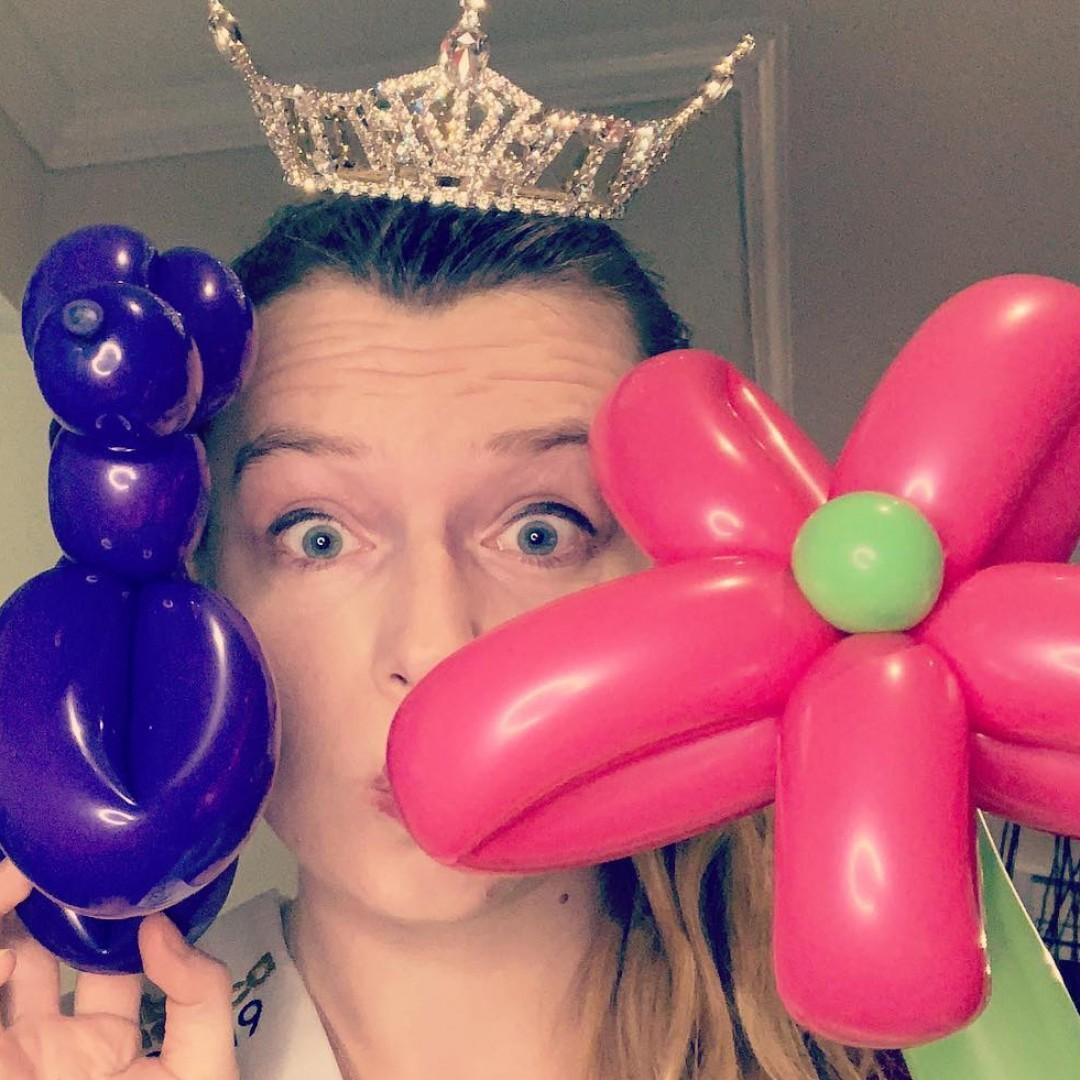 Balloon Animals by a Queen