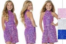 ASHLEY Lauren Kids Girls Fun Fashion Runway Romper 8031 Royal Blue - Size 14 - Tweens