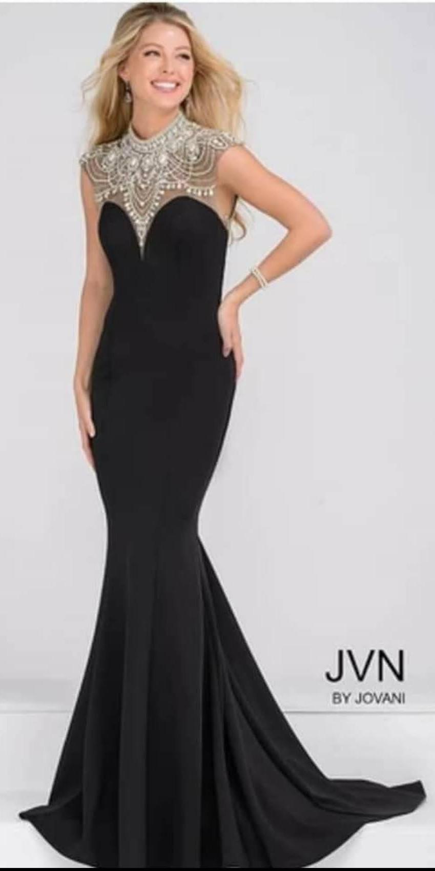 Black Miss/Mrs Dress by Jovani