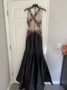 Black teen pageant dress by Camille La Vie