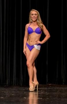 Gorgeous Purple Jamye Shaw Bikini Swimsuit