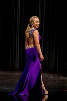 Purple Miss Pageant Dress by Jovani