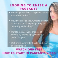 FREE VIDEO: How to Get Started in Pageants