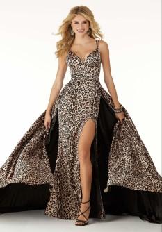 Morilee Leopard Dress