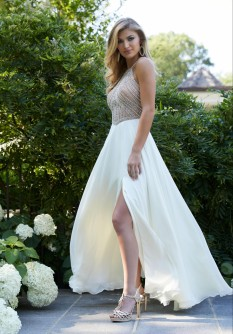Morilee Ivory Gown