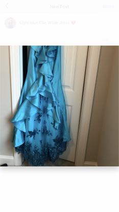 Ellie Wilde Evening Gown- WORN ONCE