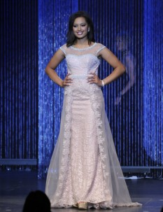 Pink Pageant Gown