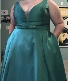 Emerald Ballgown