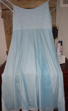 Light Blue Lyrical Dress