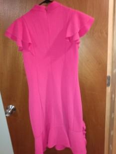 Hot Pink Interview Dress