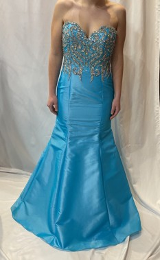 Xcite Peacock Sweetheart Strapless Mermaid with Beading style 30423