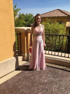 Pink Jr Teen Miss International Dress