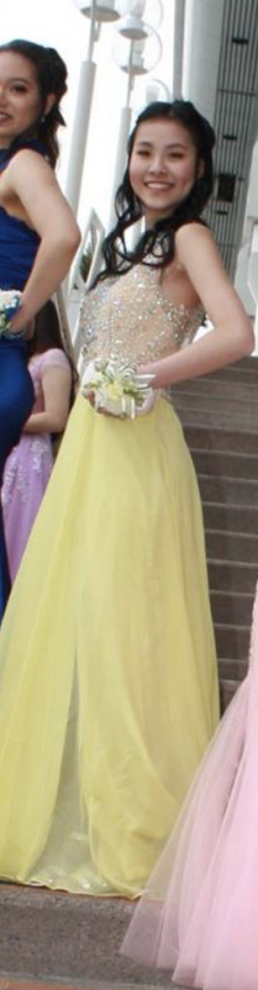 Buttercup Yellow Pageant Dress by Mac Duggal