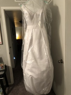 White Evening Gown by Ada James Collection