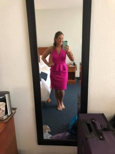 Pink Cocktail/Interview Dress by Jessica Howard