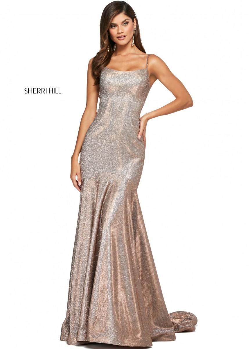 Sherri Hill 53370 Glitter Evening Dress