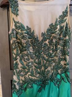 Green Mrs. Pageant Dress